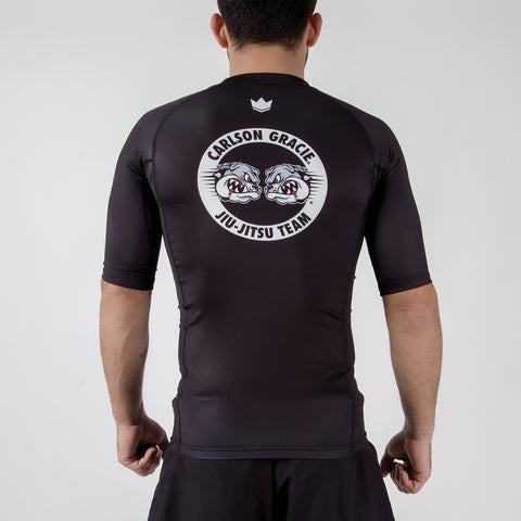 Carlson Gracie Adult Rash Guard Back View