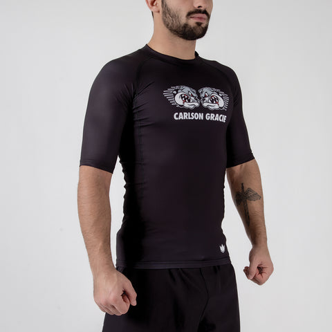 Carlson Gracie Adult Rash Guard Right Facing