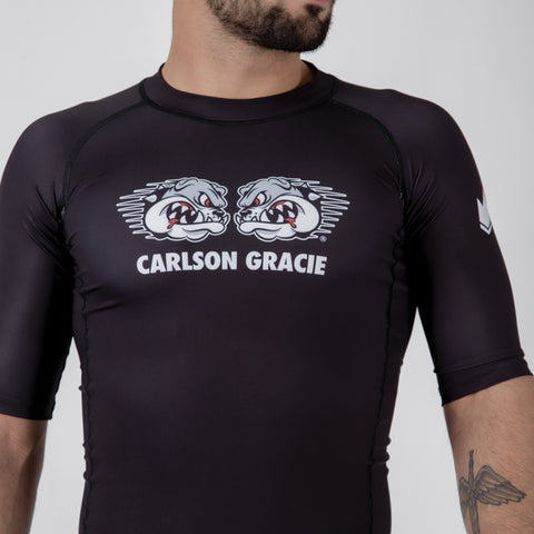 Carlson Gracie Adult Rash Guard Front Logo