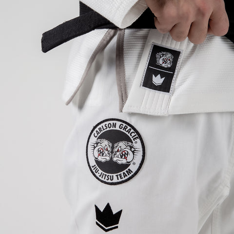 Carlson Gracie Adult Base Gi Side Lapel View