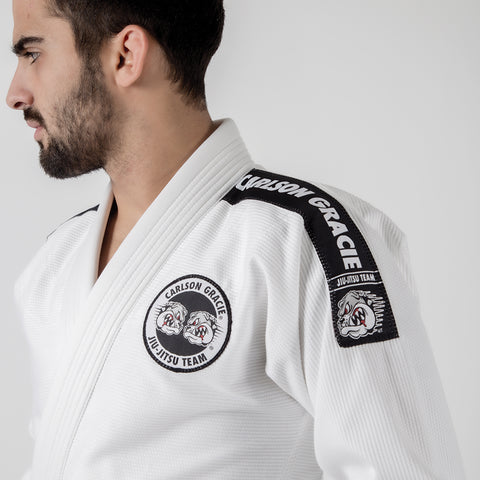 Carlson Gracie Adult Base Gi Shoulder Logo