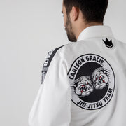 Carlson Gracie Adult Base Gi Back Logo