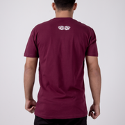 Carlson Gracie Inverted Tee - Maroon