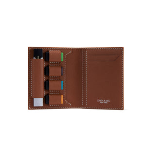 JUUL Leather Wallet - Brown