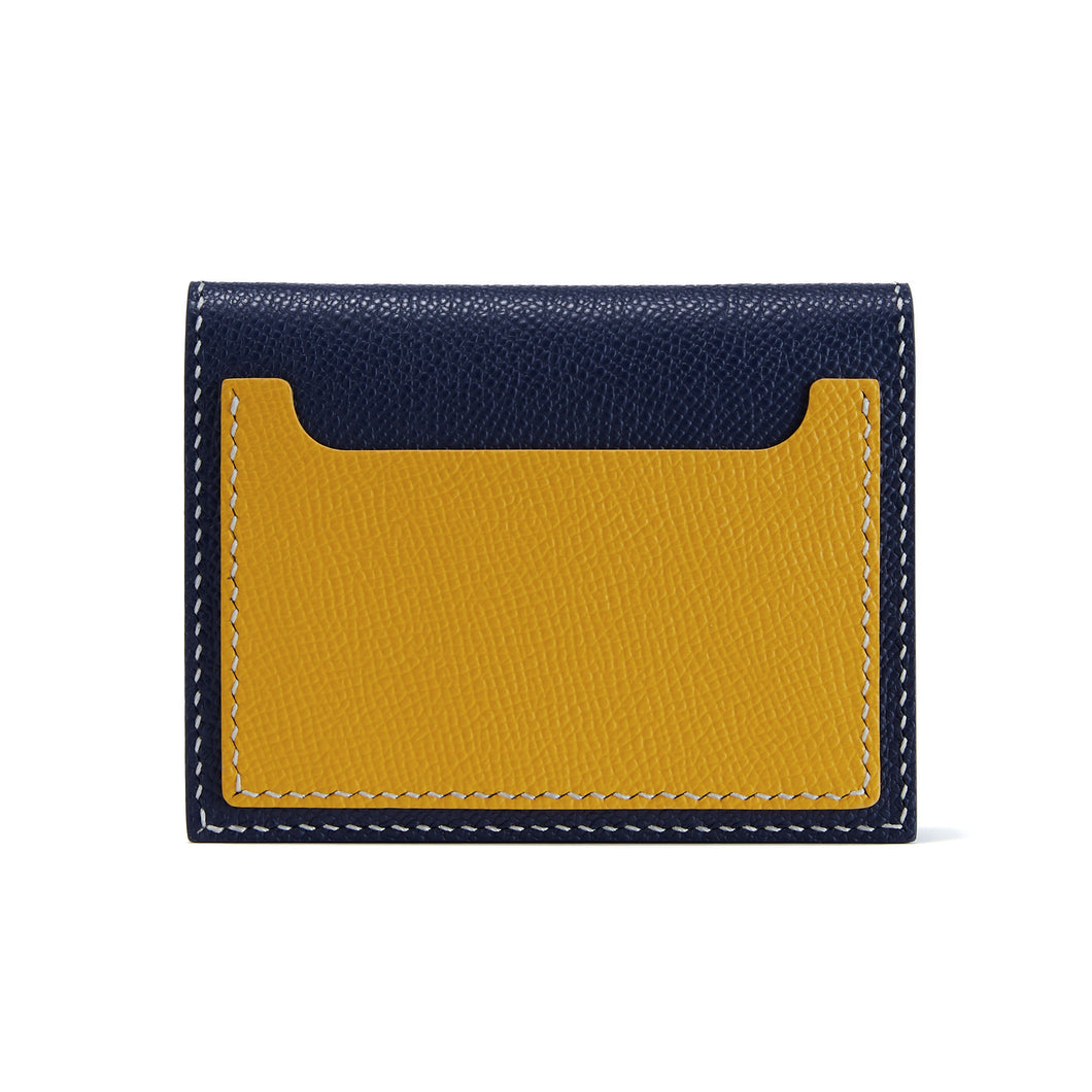 JUUL Leather Wallet - Navy