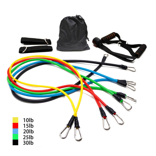 Resistance Bands 11 Pcs Set - Trendz Again