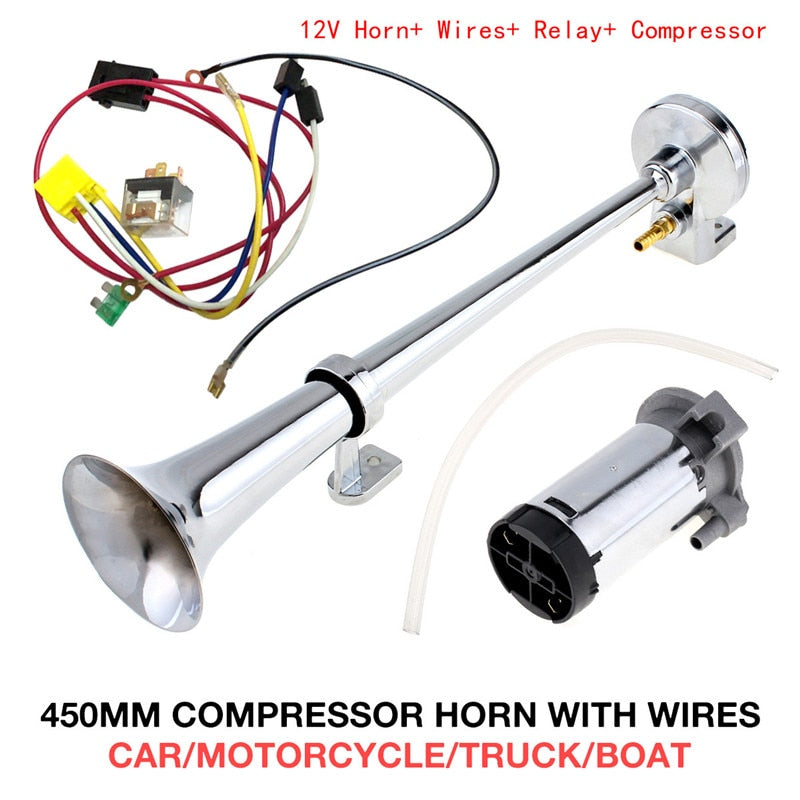 150 DB Loud Train Horn With Air Compressor - Trendz Again