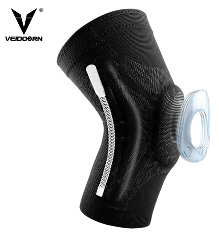 Knee Protector Brace Support Sleeve With a Silicone Spring Pad  Compression