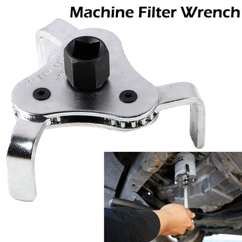 Auto Oil Filter Wrench Car Repair Tools Adjustable Two Way Oil Filter Wrench 3 Jaw Remover Tool For Cars Trucks 53-108mm