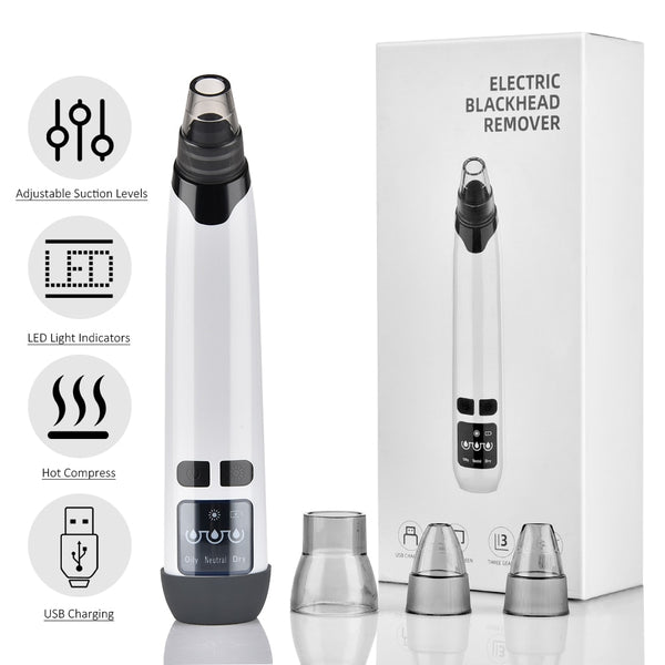 Blackhead Remover Pore Acne Pimple Removal Face T Zone Nose Cleaner Vacuum Suction Facial Diamond Beauty Clean Skin Oil Dirty