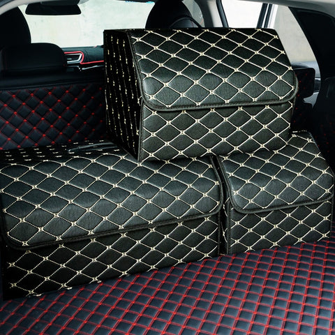 Car Storage Trunk Organizer Box Folding Stowing For Car SUV