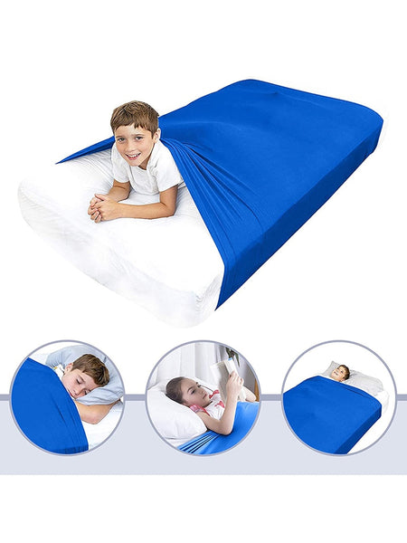 Comfortable Nylon Sensory Breathable Compression Weighted Blanket Sleeping Bedding For Kids