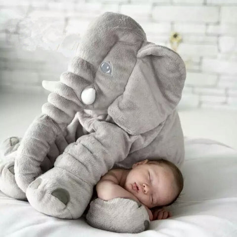 Big Soft Baby Elephant Plush - Trendz Again