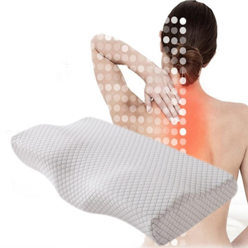 Cervical Pillows Contoured Orthopedic Memory Foam Pillow for Neck Pain - Trendz Again