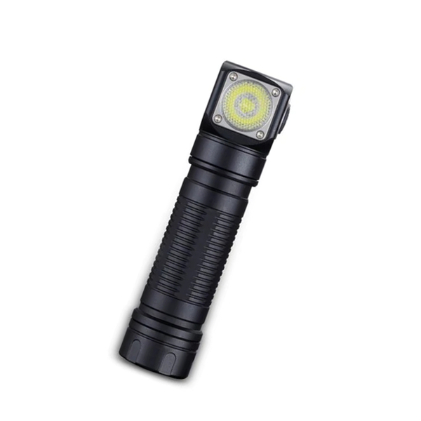 Magnetic Headlamp L-shape LED Flashlight Dual Group Modes