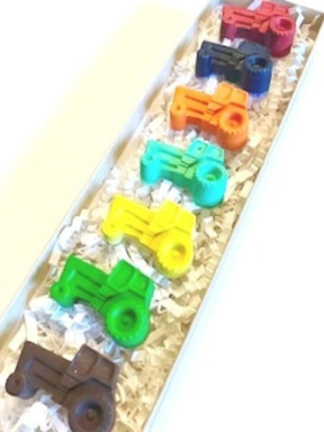 Creative Crayons Workshop - 7 pcs. Tractor Crayon Set - Multicolored