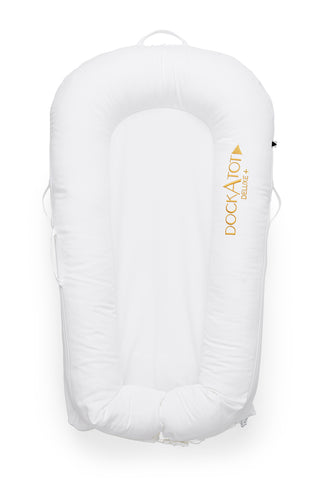 DockATot Deluxe+ Dock - Pristine White - Let Them Be Little, A Baby & Children's Boutique