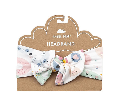 Angel Dear Bamboo Headband - Donut Smiles - Let Them Be Little, A Baby & Children's Boutique