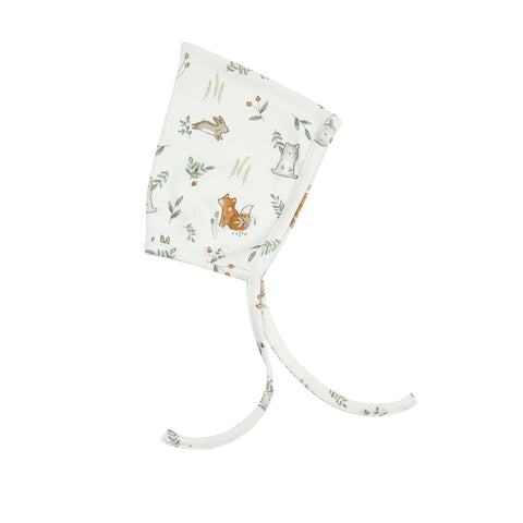 Angel Dear Organic Cotton Pixie Hat - Delicate Woodland