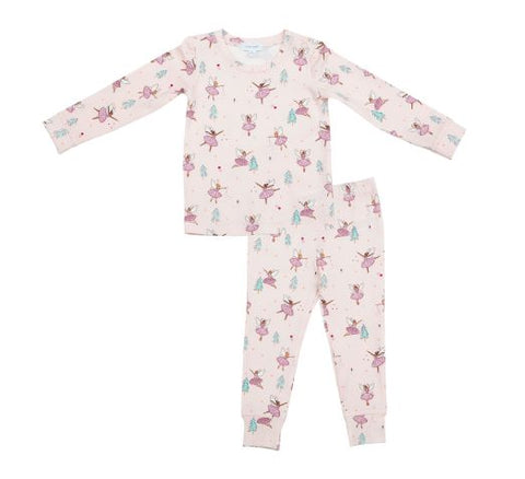 Angel Dear 2 Piece PJ Set - Sugar Plum Fairies