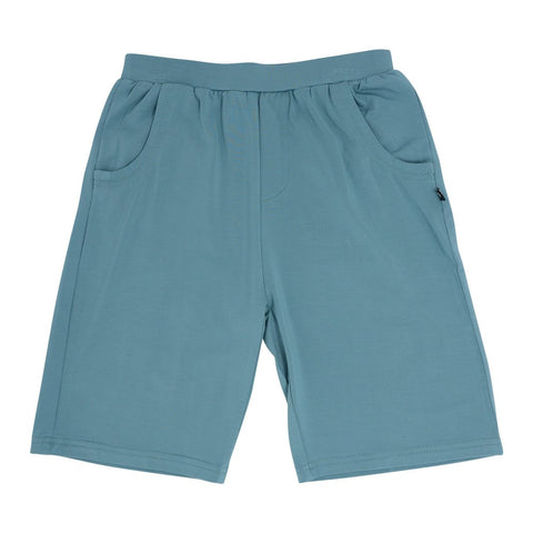 Sweet Bamboo Classic Boy Shorts - Teal Blue
