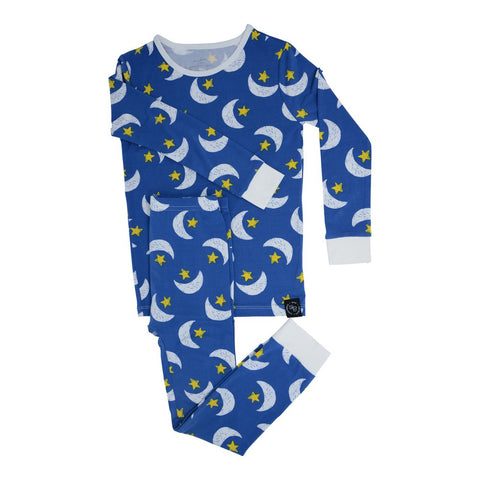 Sweet Bamboo Long Sleeve PJ Set  - Sleepy Moons