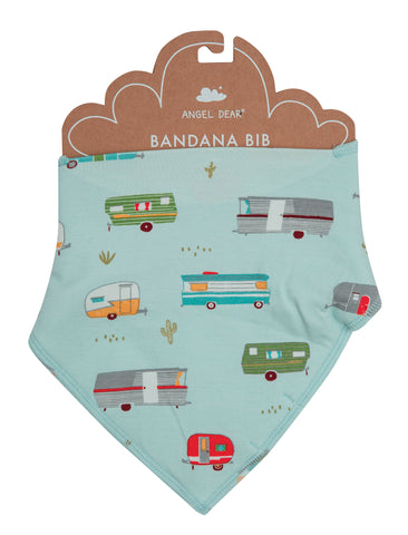 Angel Dear Bamboo Bandana Bib - Happy Campers