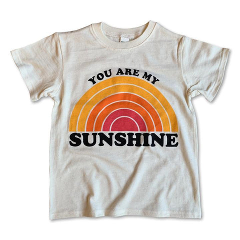 Rivet Apparel Short Sleeve Tee - You Are My Sunshine