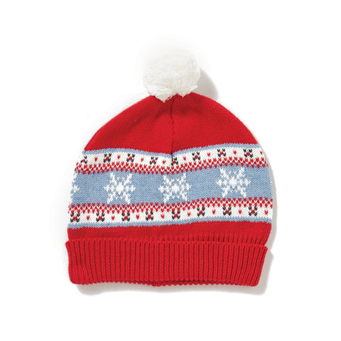 Angel Dear Knit Hat - Snowflake