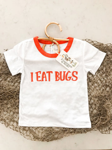 Velvet Fawn Wilder Tee - I Eat Bugs - Let Them Be Little, A Baby & Children's Boutique