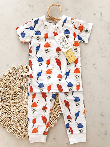 Velvet Fawn Two Piece Jammies - Sugar Rush - Let Them Be Little, A Baby & Children's Boutique