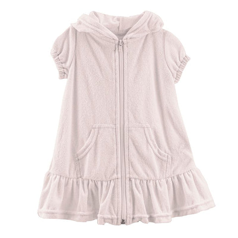 Kickee Pants Terry Ruffle Swim Cover-Up - Baby Rose - Let Them Be Little, A Baby & Children's Clothing Boutique