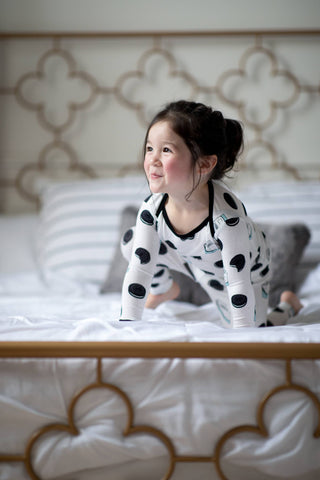 Peregrine Kidswear Bamboo 2 Piece Pajama Set - Winter Cookies - Let Them Be Little, A Baby & Children's Boutique