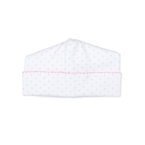 Magnolia Baby Essentials Hat - Pink Mini Dots