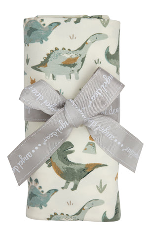 Angel Dear Bamboo Swaddle Blanket - Crayon Dino - Let Them Be Little, A Baby & Children's Boutique