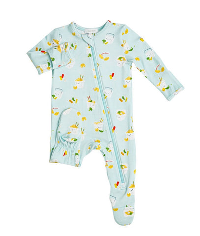 Angel Dear Zipper Footie - Take Out - Let Them Be Little, A Baby & Children's Boutique