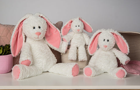 Mary Meyer Marshmallow - Junior Magnolia Bunny 9″ - Let Them Be Little, A Baby & Children's Boutique
