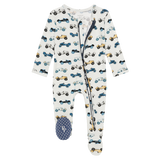 Posh Peanut Zippered Footie - Enzo - Let Them Be Little, A Baby & Children's Boutique