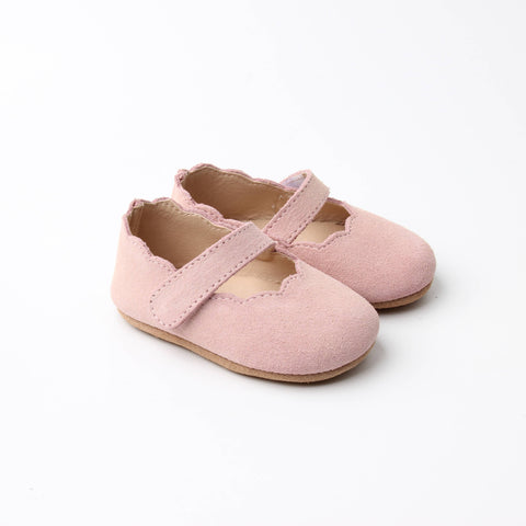 Emerson & Friends Leather Mary Jane Shoes - Dusty Rose