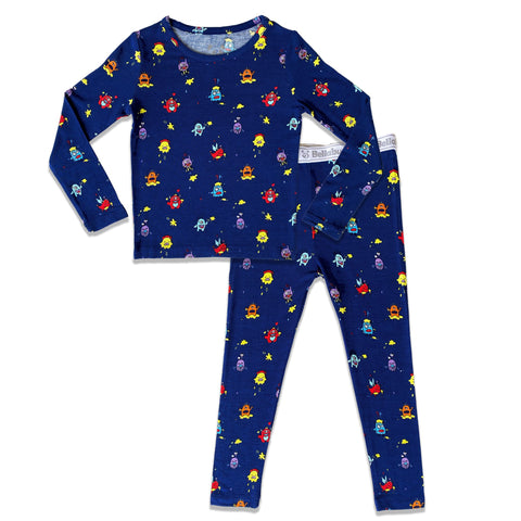 Bellabu Bear 2 piece PJ Set - Moody Monsters