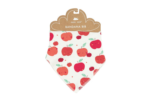 Angel Dear Bamboo Bandana Bib - Apple Orchard