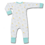 Sapling Child Convertible Zip Romper - Cloud