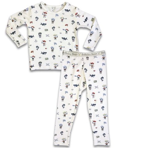 Bellabu Bear 2 piece PJ Set - Pirates