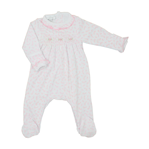 Magnolia Baby Smocked Footie - Ballet Duet - Let Them Be Little, A Baby & Children's Boutique
