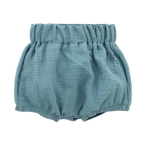 Emerson & Friends Gauze Baby Bloomers - Dusty Blue
