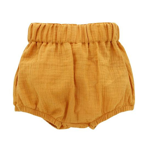 Emerson & Friends Gauze Baby Bloomers - Mustard
