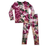 Bellabu Bear PJ Set - Bordeaux Tie Dye Limited Edition