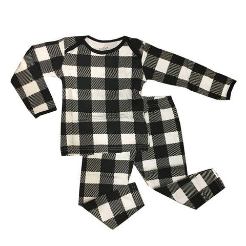 Peregrine Toddler Pajama Set - Buffalo Check - Let Them Be Little, A Baby & Children's Boutique