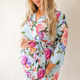 Posh Peanut Mommy Robe - Country Rose