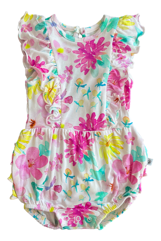 Birdie Bean Bubble Romper - Daisy - Let Them Be Little, A Baby & Children's Clothing Boutique